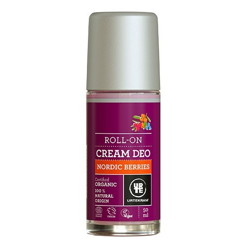 Cream deo roll on Nordic Berries - 50 ml - Urtekram
