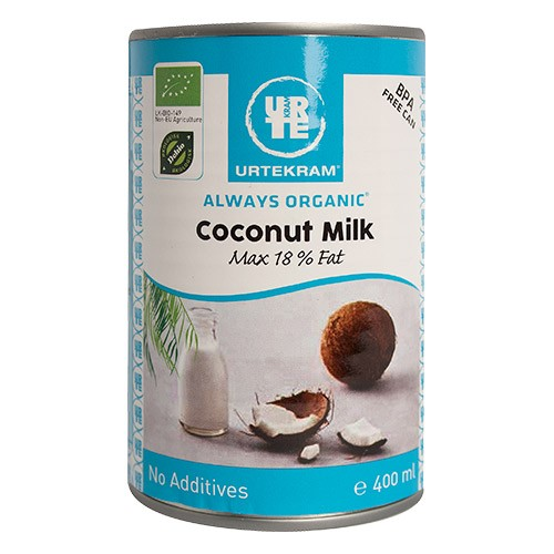 14097e14 Køb Coconut milk Økologisk - 400 ml - Urtekram - Gratis levering