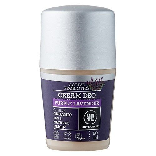 Cream deo Purple Lavender - 50 ml - Urtekram