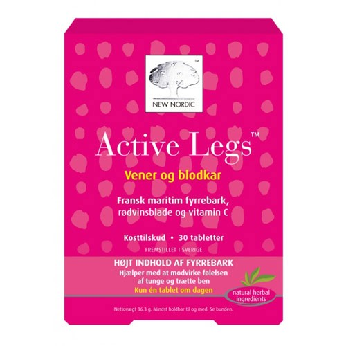 Active Legs - 60 tabletter - New Nordic