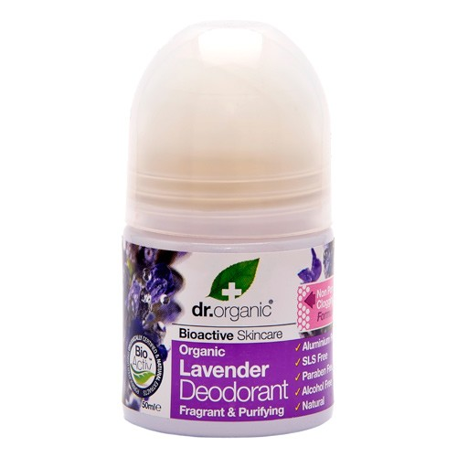 Deo roll on, Lavender  - 50 ml - Dr. Organic