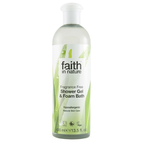 Showergel Fragrance Free - 400 ml - Faith in nature