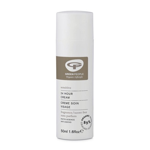 24 hour cream No Scent uden duft - 50 ml - Greenpeople