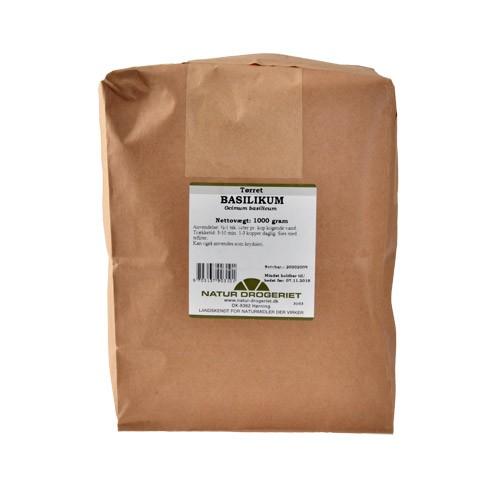 Køb Basilikum - 1 kg - Natur Drogeriet - Gratis levering