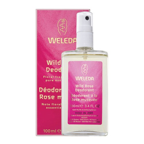 Deodorant Wild Rose - 100 ml - Weleda