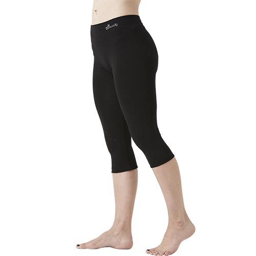 cff23329174 Leggings Cropped sort - Small - Organic Bamboo Eco Wear