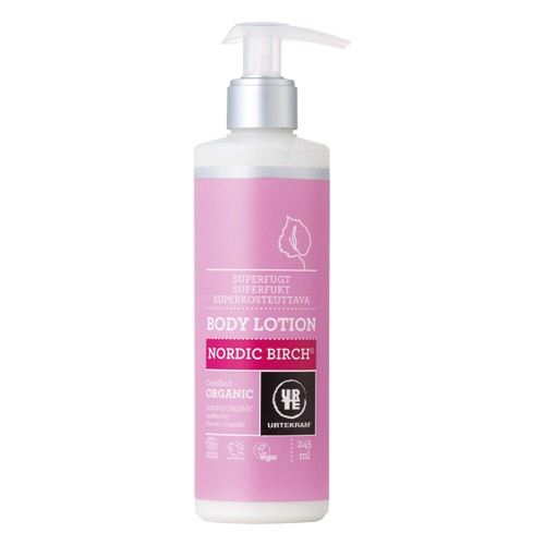 Bodylotion Nordic Birch Økologisk - 245 ml - Urtekram