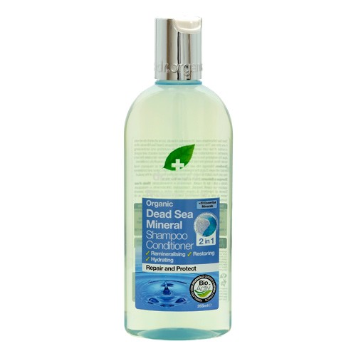 Shampoo & conditioner Dead Sea - 265 ml - Dr. Organic