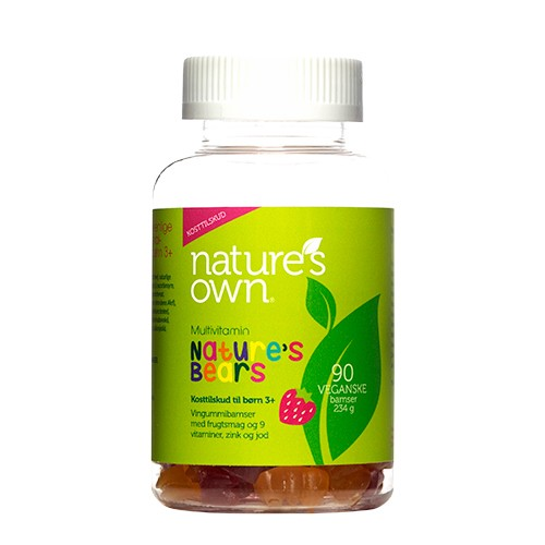 Multivitaminer Nature\'s Bear - 90 styk - Natures Own