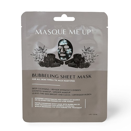 Bubbling Sheet Mask - 1 pakke - Masque Me Up