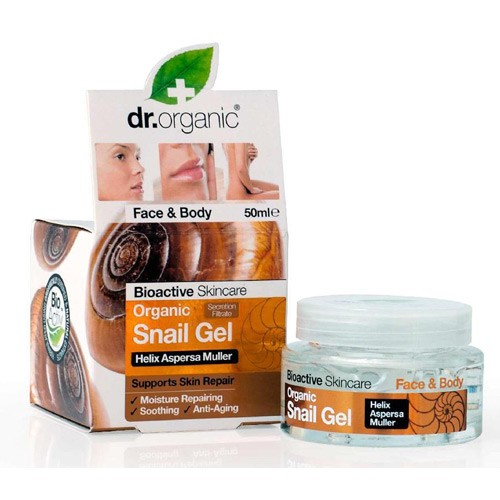 Gel snail face and body - 50 ml - Dr. Organic